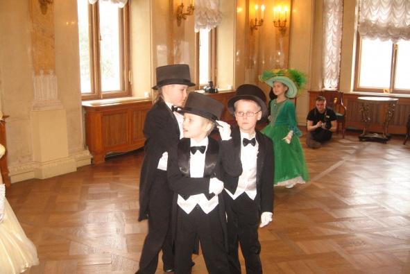 Юные петербуржцы