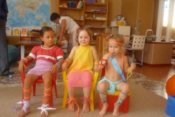 Вера, Настя, Маргоша - новые амазонки